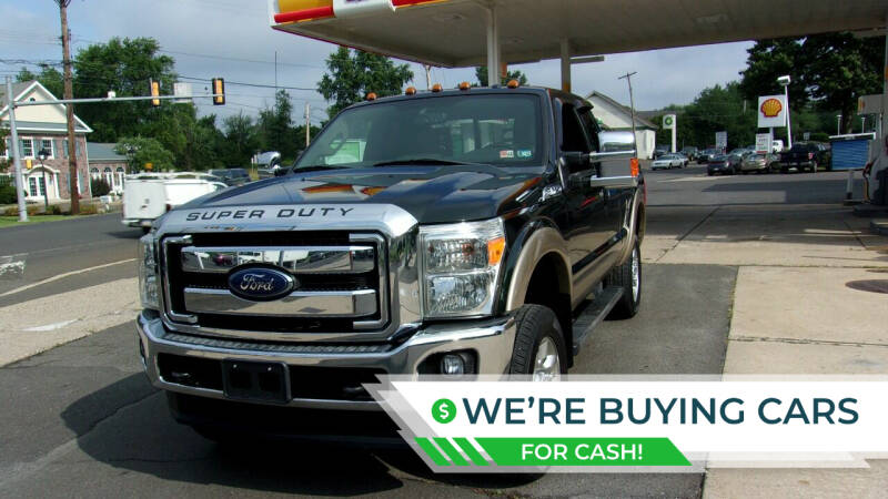 2014 Ford F-250 Super Duty for sale at FERINO BROS AUTO SALES in Wrightstown PA