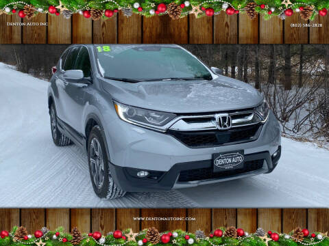 2018 Honda CR-V for sale at Denton Auto Inc in Craftsbury VT