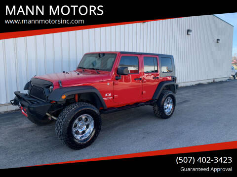 2007 Jeep Wrangler Unlimited for sale at MANN MOTORS in Albert Lea MN