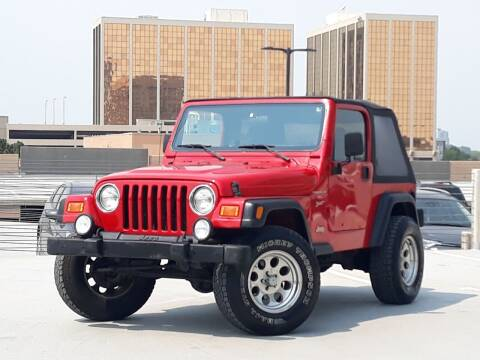 2001 Jeep Wrangler for sale at Pammi Motors in Glendale CO