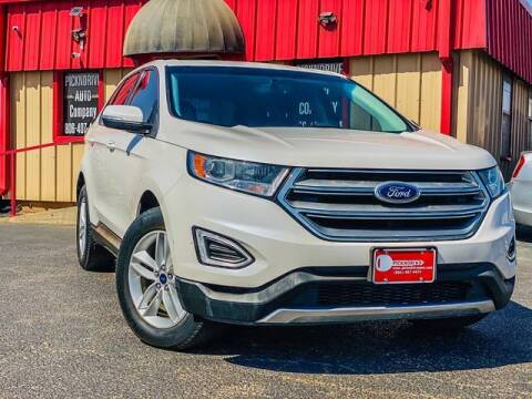2016 Ford Edge for sale at MAGNA CUM LAUDE AUTO COMPANY in Lubbock TX