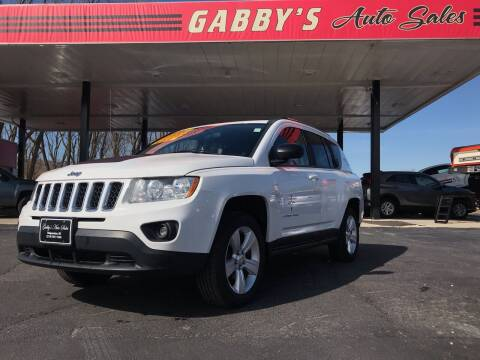 2011 Jeep Compass for sale at GABBY'S AUTO SALES in Valparaiso IN