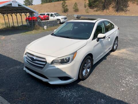 2015 Subaru Legacy for sale at CARLSON'S USED CARS in Troy ID