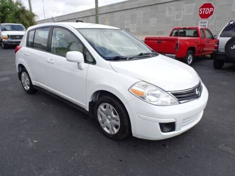2010 Nissan Versa for sale at DONNY MILLS AUTO SALES in Largo FL