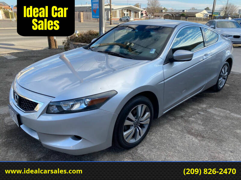 2009 Honda Accord for sale at Ideal Car Sales in Los Banos CA