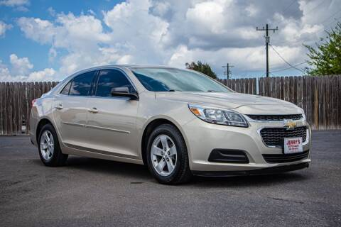 2016 Chevrolet Malibu Limited for sale at Jerrys Auto Sales in San Benito TX