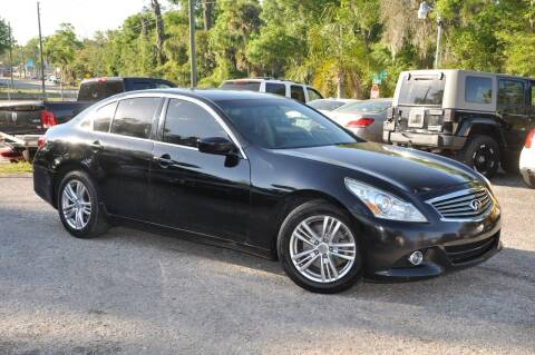 2013 Infiniti G37 Sedan for sale at Elite Motorcar, LLC in Deland FL