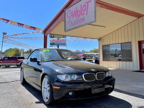 2004 BMW 3 Series for sale at Sandlot Autos in Tyler TX