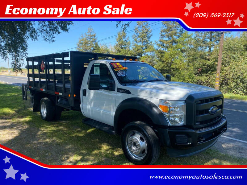2015 Ford F-450 Super Duty for sale at Economy Auto Sale in Modesto CA