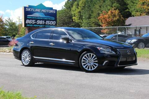2016 Lexus LS 460 for sale at Skyline Motors in Louisville TN