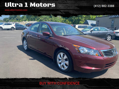 2010 Honda Accord for sale at Ultra 1 Motors in Pittsburgh PA