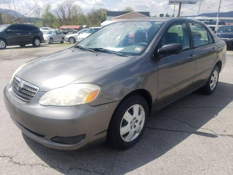 2005 Toyota Corolla for sale at Salem Auto Sales in Salem VA