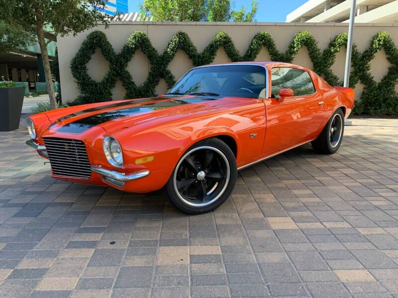 1973 Chevrolet Camaro Restomod for sale at ROGERS MOTORCARS in Houston TX