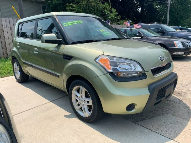 2010 Kia Soul for sale at LOT 51 AUTO SALES in Madison WI