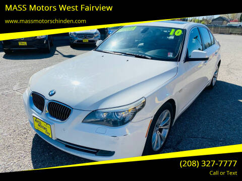 2010 BMW 5 Series for sale at M.A.S.S. Motors - West Fairview in Boise ID