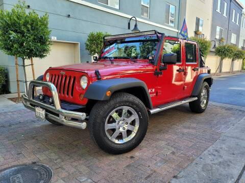 2007 Jeep Wrangler Unlimited for sale at Bay Auto Exchange in San Jose CA