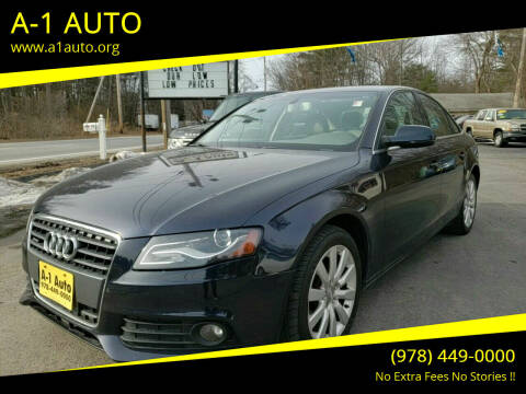 2011 Audi A4 for sale at A-1 Auto in Pepperell MA
