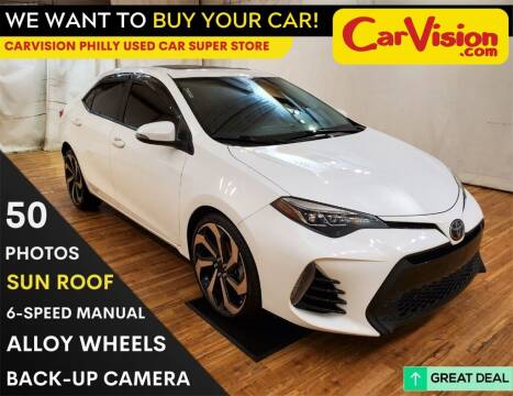 2017 Toyota Corolla for sale at Car Vision Mitsubishi Norristown - Car Vision Philly Used Car SuperStore in Philadelphia PA
