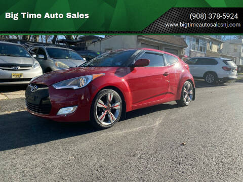 2012 Hyundai Veloster for sale at Big Time Auto Sales in Vauxhall NJ