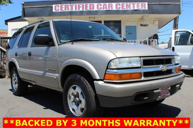 2004 Chevrolet Blazer for sale in Fairfax, VA