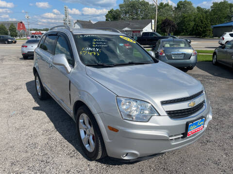 2013 Chevrolet Captiva Sport for sale at Peter Kay Auto Sales in Alden NY