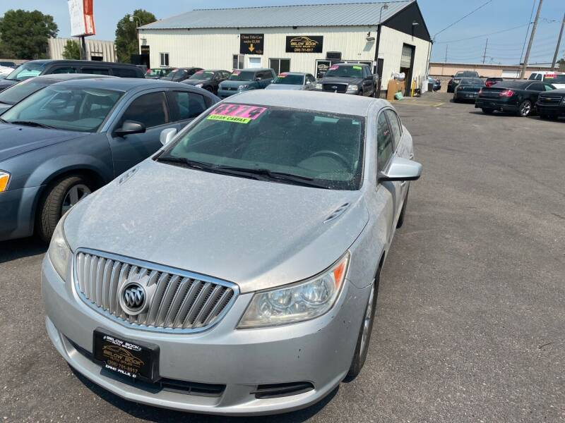 2012 Buick LaCrosse for sale at BELOW BOOK AUTO SALES in Idaho Falls ID