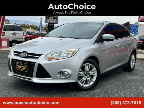 2012 Ford Focus for sale at AutoChoice in Boise ID