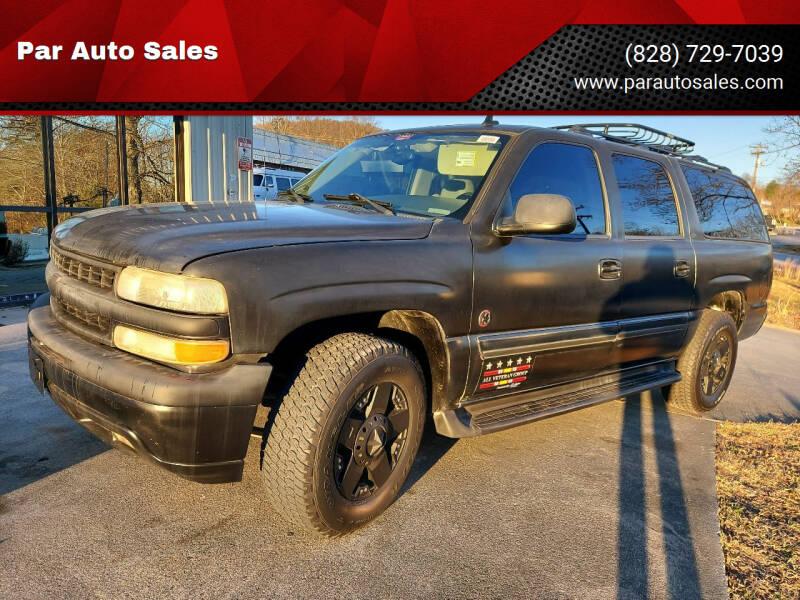 2006 Chevrolet Suburban for sale at Par Auto Sales in Lenoir NC
