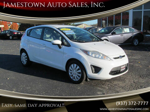 2013 Ford Fiesta for sale at Jamestown Auto Sales, Inc. in Xenia OH