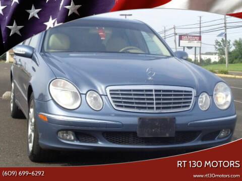 2006 Mercedes-Benz E-Class for sale at RT 130 Motors in Burlington NJ
