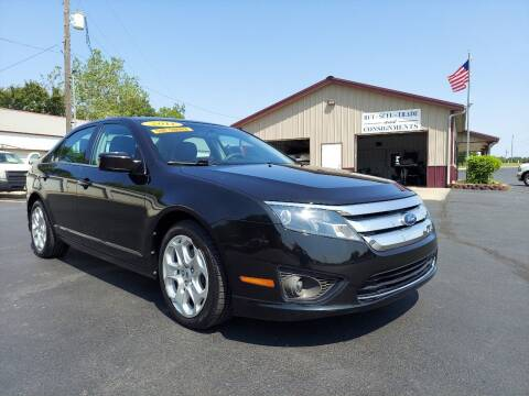 2011 Ford Fusion for sale at Holland's Auto Sales in Harrisonville MO