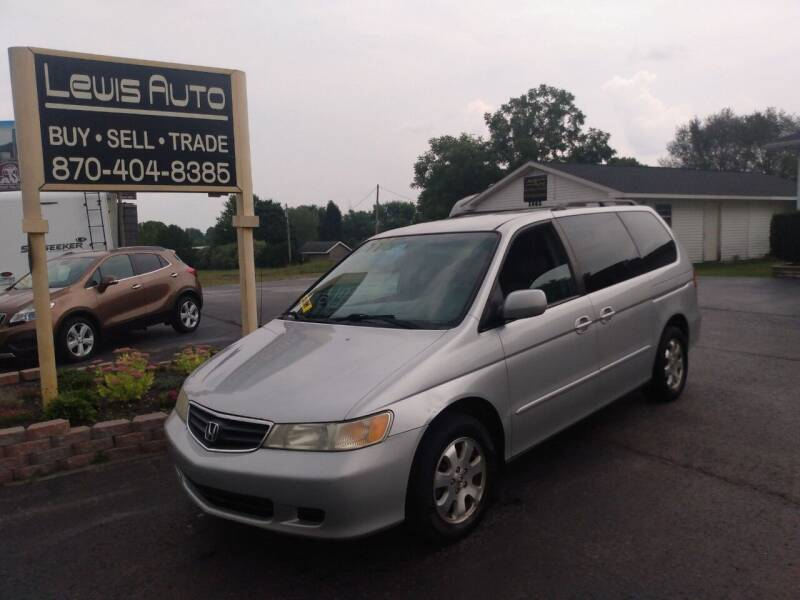 2003 Honda Odyssey for sale at LEWIS AUTO in Mountain Home AR