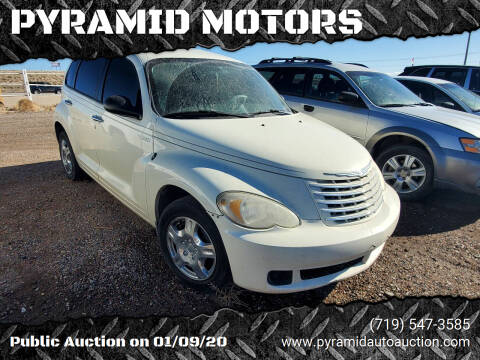 2006 Chrysler PT Cruiser for sale at PYRAMID MOTORS - Pueblo Lot in Pueblo CO