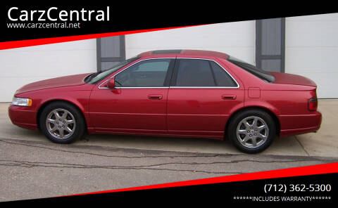 2002 Cadillac Seville for sale at CarzCentral in Estherville IA