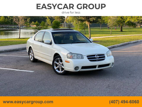 2003 Nissan Maxima for sale at EASYCAR GROUP in Orlando FL