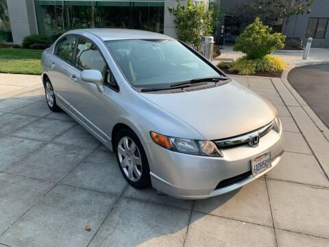 2007 Honda Civic for sale at Top Motors in San Jose CA