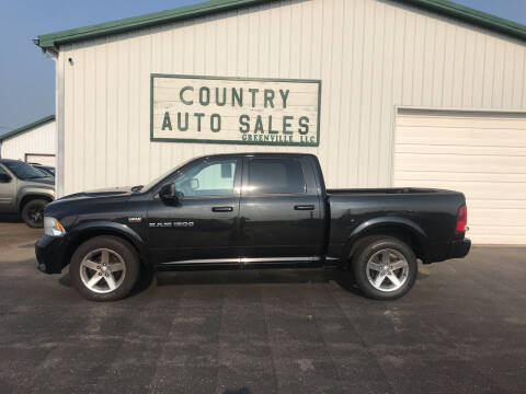 2011 RAM Ram Pickup 1500 for sale at COUNTRY AUTO SALES LLC in Greenville OH