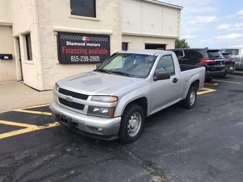 2011 Chevrolet Colorado for sale at Diamond Motors in Pecatonica IL
