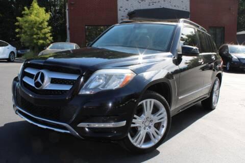 2013 Mercedes-Benz GLK for sale at Atlanta Unique Auto Sales in Norcross GA
