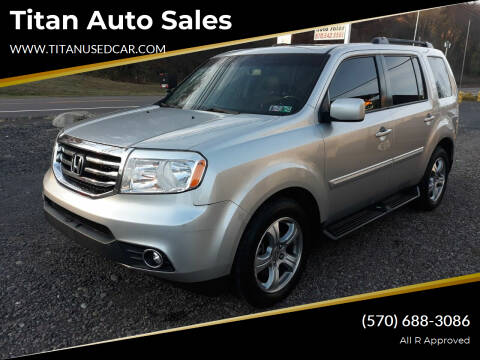 2014 Honda Pilot for sale at Titan Auto Sales in Berwick PA