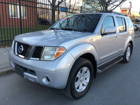 2005 Nissan Pathfinder for sale at Commercial Street Auto Sales in Lynn MA