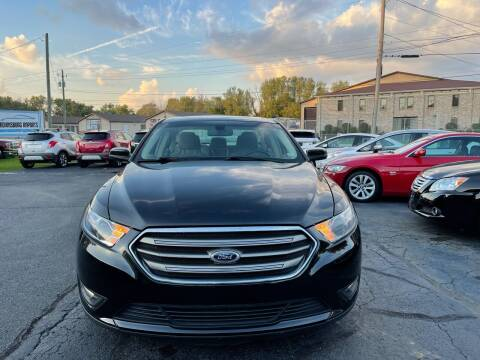2013 Ford Taurus for sale at Brownsburg Imports LLC in Indianapolis IN