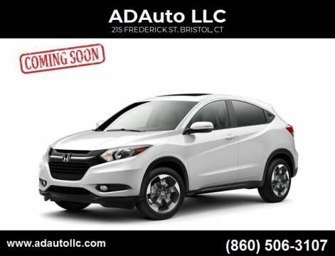 2016 Honda HR-V for sale at ADAuto LLC in Bristol CT