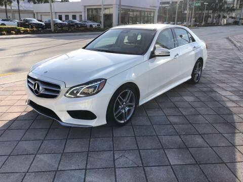 2015 Mercedes-Benz E-Class for sale at Empire Car Sales in Miami FL