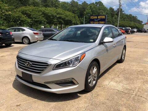 2015 Hyundai Sonata for sale at Oceana Motors in Virginia Beach VA
