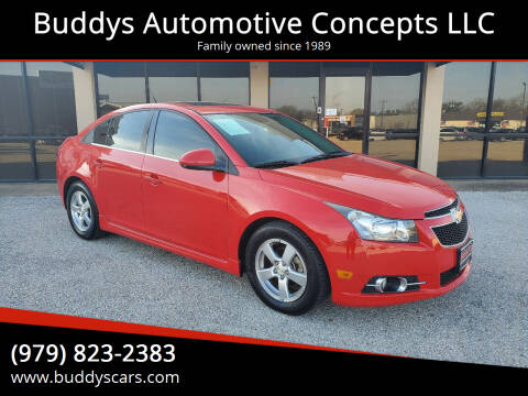 2014 Chevrolet Cruze for sale at Buddys Automotive Concepts LLC in Bryan TX