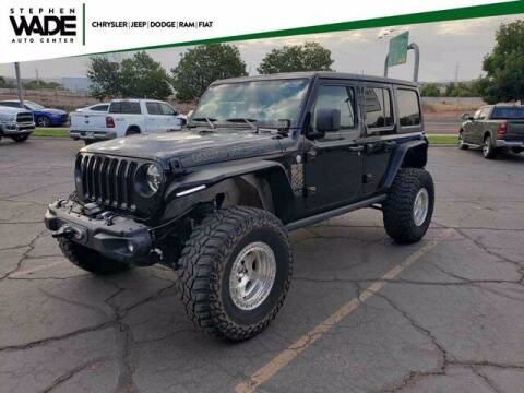 2018 Jeep Wrangler Unlimited for sale at Stephen Wade Pre-Owned Supercenter in Saint George UT