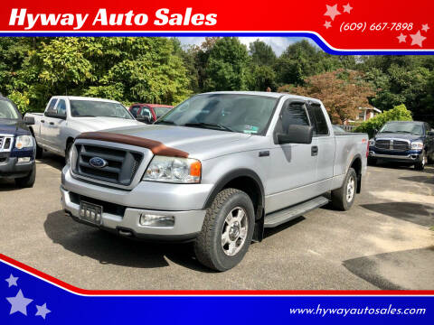 2004 Ford F-150 for sale at Hyway Auto Sales in Lumberton NJ