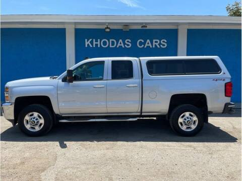 2015 Chevrolet Silverado 2500HD for sale at Khodas Cars in Gilroy CA
