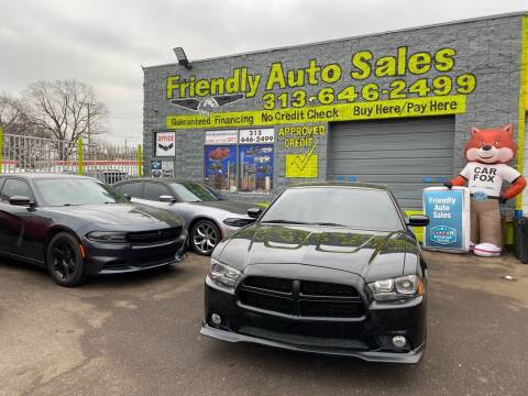 2013 Dodge Charger for sale at Friendly Auto Sales in Detroit MI
